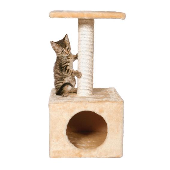 Домик для кошки с когтеточкой своими руками фото
