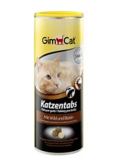 GimCat Katzentabs mit Wild Джимкэт Витаминки с дичью для кошек, 710 шт