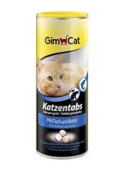 GimCat (Джимкэт) Katzentabs витамины для кошек с рыбой и биотином