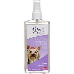 8in1 Perfect Coat Clear Choice №603 - спрей для облегчения расчесывания шерсти собак и других животных