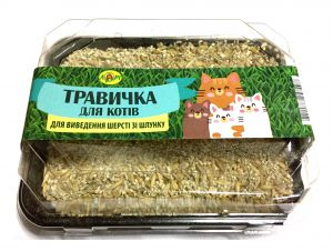 Травa для кошек витаминная для проращивания Лори (в лоточке)