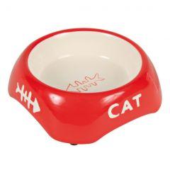 Керамическая миска для кошки (черная) Trixie TX-24498