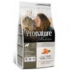 Pronature Holistic Индейка с клюквой сухой корм холистик для взрослых собак всех пород