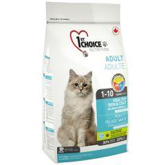 1st Choice Adult Cat Лосось Хезли - сухой корм для взрослых кошек (с лососем)