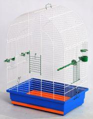Клетка для попугаев Люси разборная, оцинкованная Лори Кц059