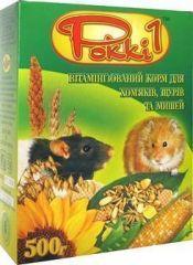Pokki 1 витаминизированный полноценный корм для хомяков, крыс и мышей