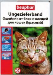 Beaphar ошейник для кошек от блох и клещей (КРАСНЫЙ)