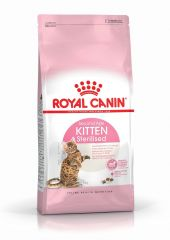Royal Canin Kitten Sterilised роял канин сухой корм для стерилизованных котят до 12 месяцев