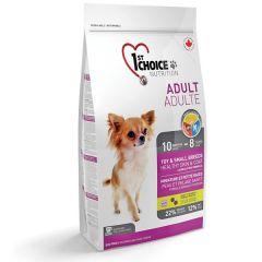 1st Choice (Фест Чойс) Fish Ad Mini - сухой корм для взрослых собак мини и мелких пород с ягненком и рыбой