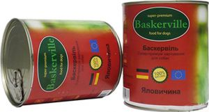 Baskerville (Баскервиль) Говядина консерва для собак