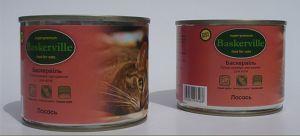 Baskerville (Баскервиль) Лосось консерва для котов
