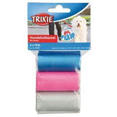 Пакеты разноцветные для собачьих
