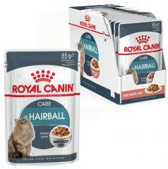 Royal canin Hairball care консервированный корм для кошек старше 1 года, склонных к образованию волосяных комочков (пауч)
