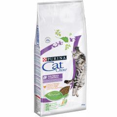 Cat Chow Special Care Hairball Control (Кэт Чау Спешел Каре Хербол Контрол) - сухой шерстевыводящий корм для взрослых кошек