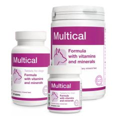 Multical – Мультикаль мини - витаминно-минеральный комплекс для взрослых собак мини пород