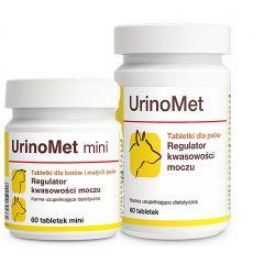 Dolfos UrinoMet – УриноМет Биологически активная добавка с метионином, регулятор кислотности мочи у собак и кошек.