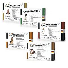 Капли Inspector (Инспектор Тотал) TOTAL C для собак на холку против 14 видов паразитов внешнего и внутреннего типа