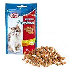 Лакомство для кошек DENTINOS с витаминами Трикси 4266