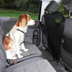 Защитное ограждение для собак в машину, нейлон, 60*44*69 см, черное Трикси 13175