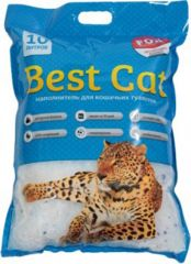 Best Cat Blue (Бест Кет) наполнитель силикагелевый для кошачьего туалета с ароматом мяты