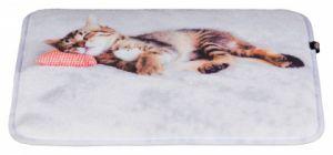 Мягкий лежак коврик для кошки на подоконник Nani Трикси 37126
