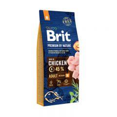 Brit Premium (Брит премиум) Adult M сухой корм для взрослых собак средних пород