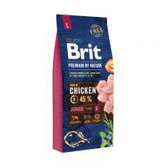 Brit Premium (Брит премиум) Junior L сухой корм для щенков и молодых собак крупных пород