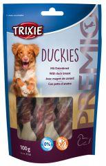Жевательные косточки с мясной намоткой из утиного мяса PREMIO Duckies Трикси 31538