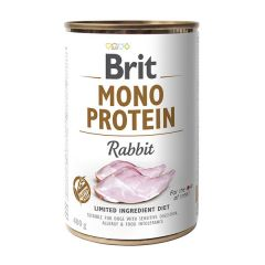 Brit Mono Protein Rabbit Консервы с кроликом для собак