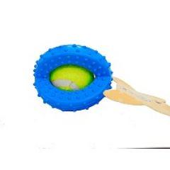 Игрушка для собак мяч в кольцах PetWorx (ПетВоркс) PRT-2021 (5,8 см)