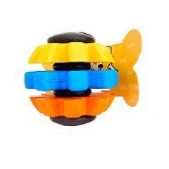 Игрушка для собак мяч радуга PetWorx (ПетВоркс) PRT-6559 (7,6 см)