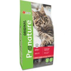 Pronature Original Adult Cat Chiсken Lamb - сухой корм с ягненком и курицей для взрослых кошек