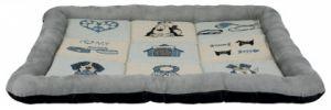 Мягкий лежак коврик для собак и щенков Patchwork Трикси 37140