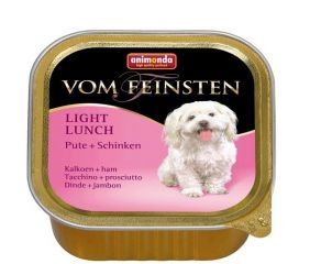 Animonda Vom Feinsten консервы для взрослых собак с индейкой и ветчиной