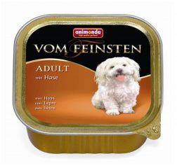 Animonda Vom Feinsten Adult mit Hase Консервы для собак с мясом кролика