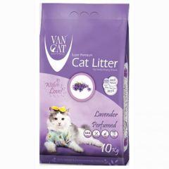 VanCat (ВанКэт) Lavender наполнитель для туалета бентонитовый (белая глина)