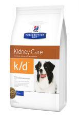 Hills Prescription Diet Canine k/d Лечебный сухой корм для собак для поддержания функции почек при хронической недостаточности