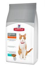 Hills Science Plan Sterilised Cat Young Adult Tuna Сухой корм с тунцом для молодых стерилизованных кошек