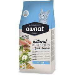 Ownat Classic Kitten (Cat) сухой корм с курицей для котят