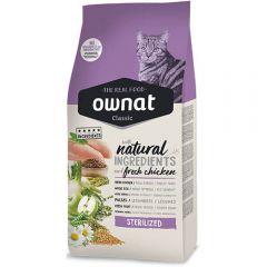 Ownat Classic Sterilized (Cat) сухой корм для стерилизованных котов и кошек