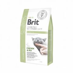 Brit (Брит) Veterinary Diets Cat Diabetes сухой корм для котов при сахарном диабете
