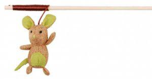 Удочка дразнилка для кошки (мышка с кошачьей мятой) Трикси 45751