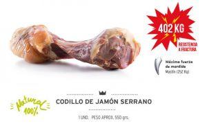 Мясная хаммоновая косточка 550 гр для средних и больших пород собак Испания 80661