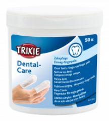 Одноразовые салфетки для чистки зубов для собак Трикси 29393