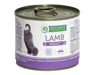 Nature's Protection Adult Lamb Консерва влажный корм для взрослых собак всех пород с ягненком