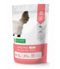 Nature's Protection Long hair Сухой корм для взрослых кошек с длинной шерстью