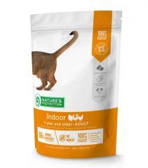 Nature's Protection Indoor Сухой корм для взрослых кошек живущих в помещении