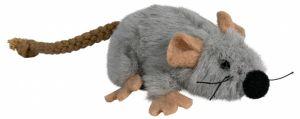 Игрушка для кошек мышь плюшевая с мятой Трикси 45735