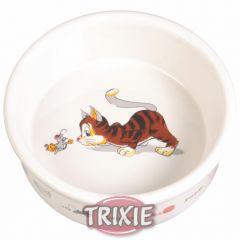 Миска керамическая для кошки Trixie TX-4007