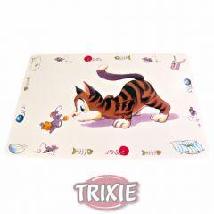 Коврик под миску для еды Trixie TX-24544